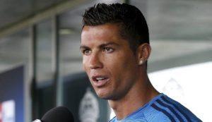 Cristiano Ronaldo (foto Ansa)