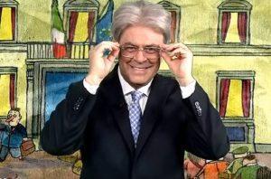 """YOUTUBE Maurizio Crozza: """"Governo Gentiloni copia e inc..."""". E imita premier"""