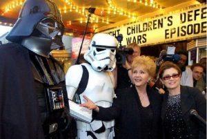 Debbie Reynolds, morta mamma di Carrie Fisher...24 ore dopo la figlia