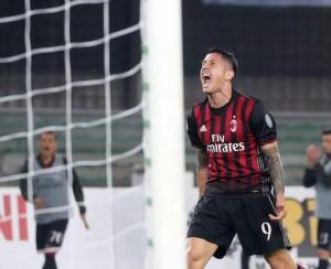 Milan-Crotone probabili formazioni, Gianluca Lapadula ancora titolare
