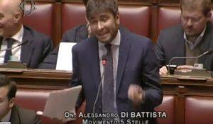 """Di Battista (M5s) alla Finocchiario: """"Le chiedo umiltà"""". Lei: """"Io sono umile"""""""