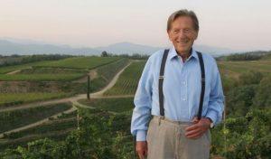 Livio Felluga è morto: addio al papà del vino friulano