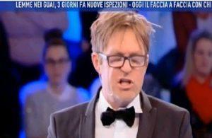 Domenica Live, rissa tra Filippo Facci e Manuela Villa VIDEO