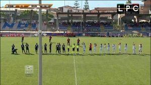 Fondi-Vibonese Sportube: streaming diretta live, ecco come vedere la partita