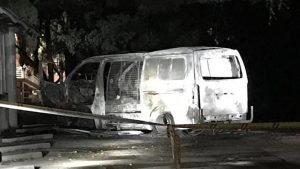 Canberra: furgone carico di bombole a gas contro associazione cristiana