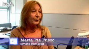 Maria Pia Fusco, morta la giornalista di Repubblica e sceneggiatrice