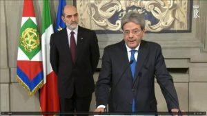 """Gentiloni premier incaricato: """"Ora legge elettorale, stessa maggioranza"""""""