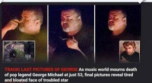 George Michael, ultima FOTO: sguardo assente, ingrassato...