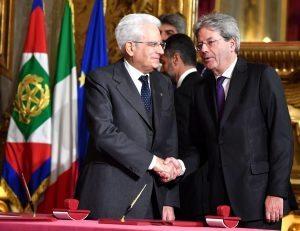 """FNSI: """"Buon lavoro al presidente Paolo Gentiloni"""""""
