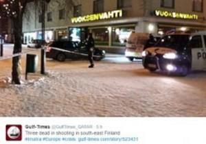 Finlandia: uccide col fucile capo Consiglio comunale e 2 giornaliste