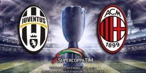 Juventus-Milan Supercoppa streaming su pc, come vederla