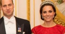 Kate Middleton con la Cambridge Lover's Knot, tiara preferita di Lady Diana