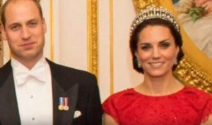 Kate Middleton con la Cambridge Lover's Knot, tiara preferita di Lady Diana