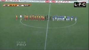 Lecce-Matera Sportube: streaming diretta live, ecco come vedere la partita