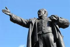 Una statua di Lenin