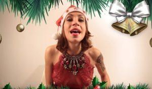 """YOUTUBE Malena la Pugliese, video auguri: """"Un Natale vibrante"""""""