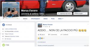 """Barista annuncia su Facebook: """"Addio, mi uccido"""". Poi si spara alla testa"""
