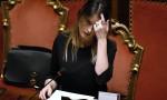 Maria Elena Boschi FOTO: vestito nero per chiedere la fiducia sulla legge di Stabilita
