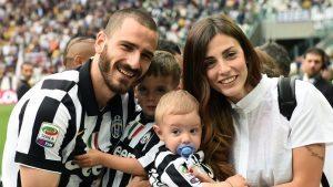 """Leonardo Bonucci: """"Io e la malattia di mio figlio. Ho pensato di smettere"""""""