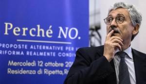 """Referendum, D'Alema: """"La Madonna è con noi, le lacrime le lasciamo a Renzi"""""""