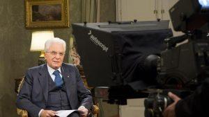 Sergio Mattarella, discorso di fine anno. La diretta