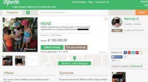 """""""Vendesi rene per 100.000 euro"""": annuncio di una donna su Shpock FOTO"""