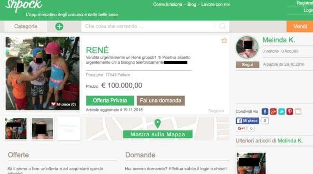 Senza soldi vende rene per 100 mila euro