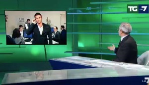 "Referendum, Enrico Mentana all'inviato: ""Sei in tenuta Big Gym"""