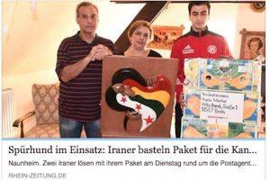 Profugo grato manda regalo alla Merkel, la polizia sospetta bomba e blocca ma era una scultura
