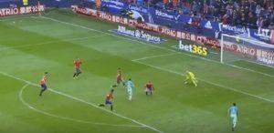 YOUTUBE Messi gol incredibile: salta tutti come alla Playstation