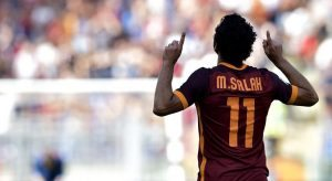 Roma, Salah e Bruno Peres convocati per la Juventus. Totti out