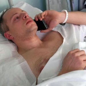 Christian Movio FOTO: operato alla spalla poliziotto ferito da Anis Amri2