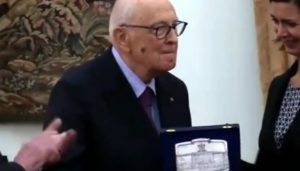 "YOUTUBE Giorgio Napolitano a Laura Boldrini: ""Sindaca abominevole, ministra orribile"""