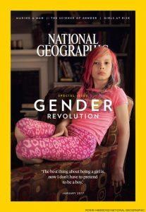 National Geographic, copertina dedicata ai bambini trans: Avvenire protesta2