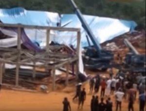 Crolla chiesa in costruzione in Nigeria, almeno 160 morti