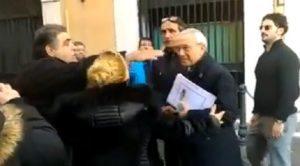"L'ex deputato Osvaldo Napoli ""arrestato"" dai forconi"