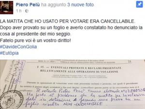 Referendum: matite cancellabili, voti venduti. Gli astuti cretini