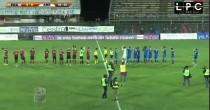 Prato-Arezzo 1-2: highlights Sportube su Blitz. Moscardelli doppietta con gol in rovesciata