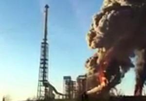 Sannazzaro de' Burgondi, cessato allarme per esplosione raffineria Eni