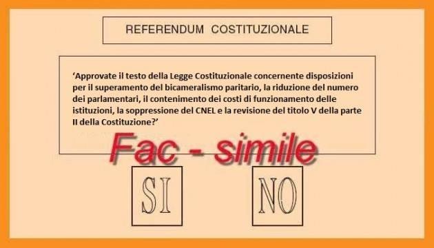Referendum: seggi aperti dalle 7 alle 23