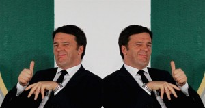 Renzi contro...Renzi