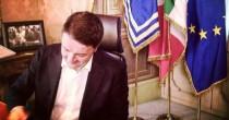 """Renzi: """"E ora  un governo  con dentro  tutti i partiti"""""""