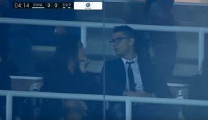 YOUTUBE Ronaldo al Bernabeu con Georgina Rodriguez, la sua nuova fiamm