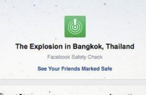 """Facebook, Safety Check per """"bomba a Bangkok"""". Ma era falso..."""