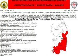 Cagliari e Sardegna: scuole chiuse lunedì 19 dicembre 2016. Elenco comuni