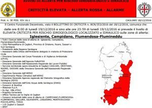 Sardegna chiusa per maltempo: scuole, cimiteri, parchi. Sos alluvione