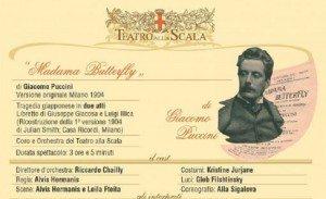 La Scala, prima Madama Butterfly. Elenco cinema che la trasmettono città per città