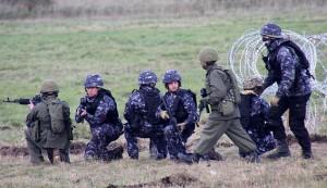 """""""Putin invede l'Estonia"""", esercitazione dell'esercito inglese"""
