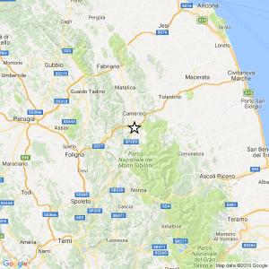 Terremoto Macerata, ancora una scossa tra Pieve Torina e Fiordimonte del 3.5