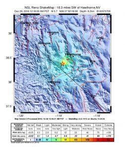 Terremoto, sciame sismico tra Nevada e California: tre forti scosse
